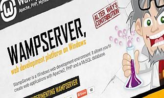 התקנת שרת Wamp Server במחשב האישי